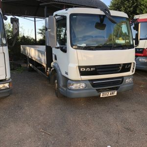 """NOW SOLD ANOTHER IN BUILD /DAF 45.160 SCAFFOLD LORRY 21 .6"""" Alloy body 2012. Long mot."""