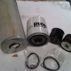 Ford Cargo Filters service kit (contains air, oil, fuel x2 filters)