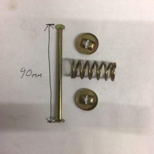 BRAKE SHOE Hold down springs kit x4